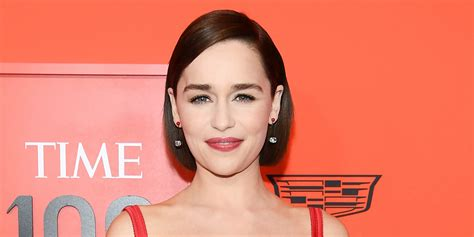 Emilia Clarke Came Up With a 'Game of Thrones' Speech In
