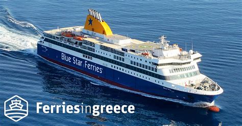 Blue Star Delos ferry boat, tickets, reviews, photos and