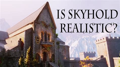 Is SKYHOLD from Dragons Age Inquisition done right? - YouTube