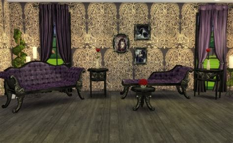 My little The Sims 3 World: ADELE- Victorian Gothic Set