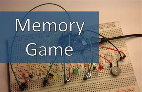 Arduino Simple Memory Game : 4 Steps - Instructables