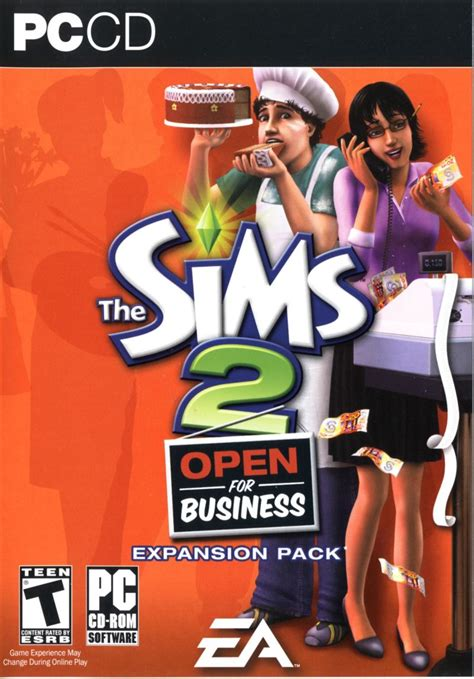 The Sims 2: Open for Business for Macintosh (2006) - MobyGames