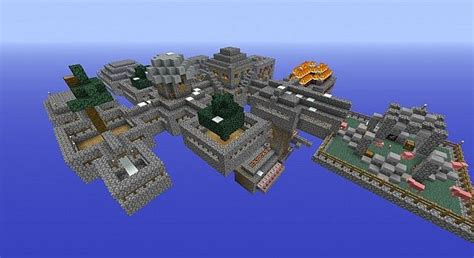 Skyblock Survival -- Taken to a higher level Minecraft Map
