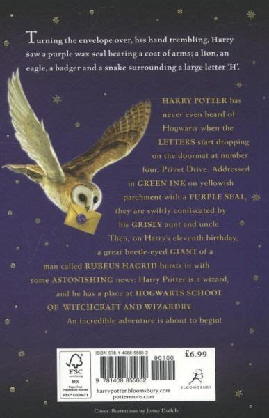 Harry Potter 1 and the Philosopher's Stone von Joanne K