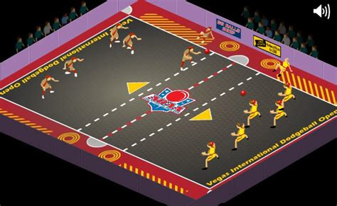Play Dodgeball : The Show - Free online games with Qgames
