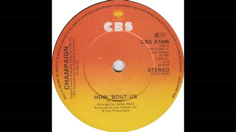 Champaign - How 'Bout Us - Billboard Top 100 of 1981 - YouTube
