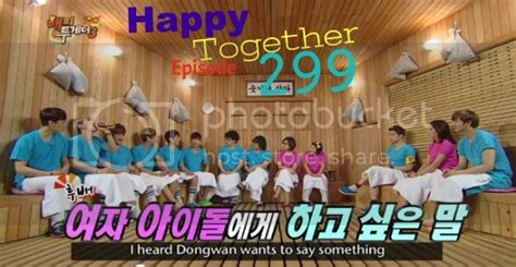 Korean Entertainment: Happy Together EP 299 [Eng Sub