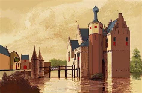 The Castle of Tilburg: A medieval castle in an industrial city