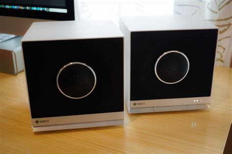 Review: Raumfeld Stereo Cubes Wireless Speaker System