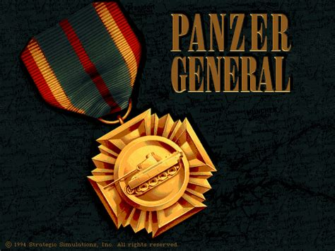 Panzer General   Old DOS Games   Download for Free or play