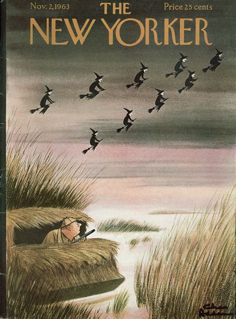 New Yorker Covers for Halloween: Monsters, Real and