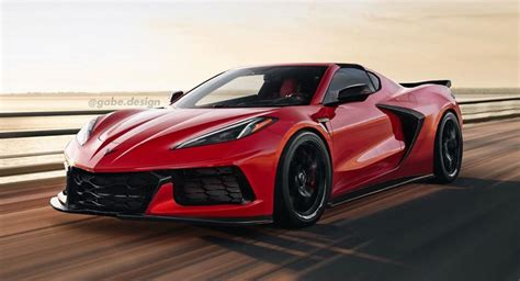 Is This What The 2021 Chevrolet Corvette Z06 Will Look