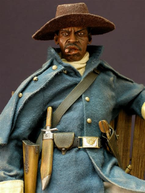 One sixth custom kitbashes by Matias: Buffalo Soldier