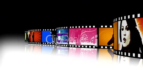 Entertainment Movie Film Strip 2: Royalty-free video and