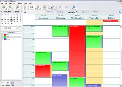 Thunderbird 3 to bring calendar, new search functions