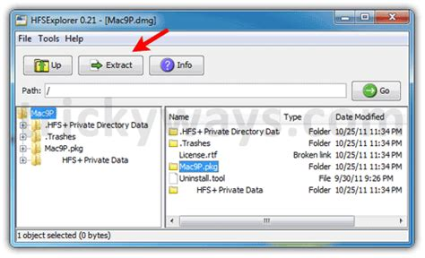 How to Extract DMG File in Windows – Windows 7, Windows