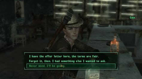 Fallout: New Vegas - Companion Cass and Side Quest