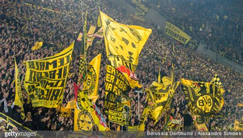 Borussia Dortmund's Yellow Wall Sings Deafening Rendition