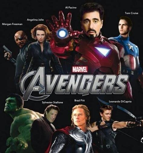 The other version of the Avengers!!!! That cast would be a