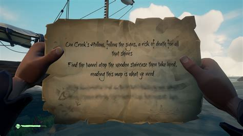 Need help with Crook's Hollow Riddle : Seaofthieves