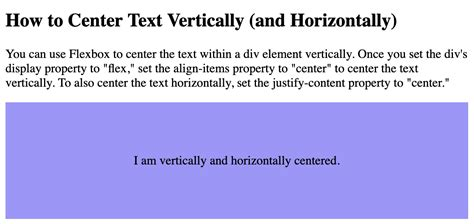 How to Center Text in CSS