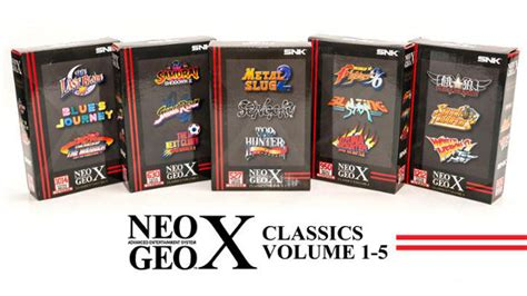 NeoGeo X gets 15 new titles, system firmware update   The