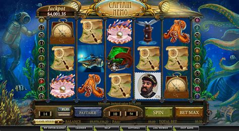 Captain Nemo - PlayMillion - Play The Most Popular And Fun